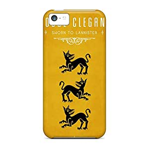 For Iphone Case, High Quality Game Of Thrones House Clegane For Iphone 5c Cover Cases