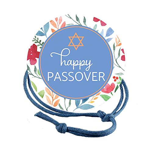Napkin Knots Passover Decorations Napkin Ring - Floral Background (Pack of 10) (Banquet)