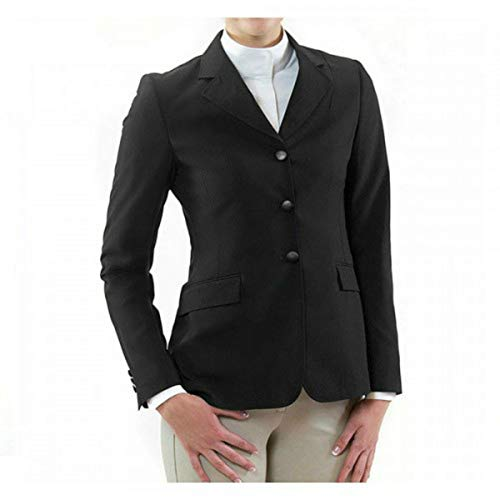 RJ Classics Ladies Sydney II Show Coat (Black, 8R)