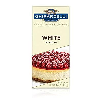 Ghirardelli White Chocolate Premium Baking Bar, 4 oz