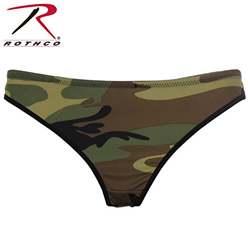 Rothco Women's Camo Thong, (Canvas Thongs)