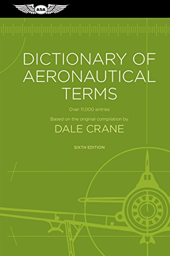 Dictionary of aeronautical terms over 11 000 entries dale crane dictionary of aeronautical terms over 11000 entries by crane dale fandeluxe Images