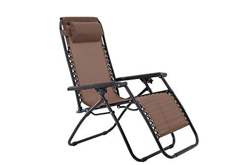 - Zero Gravity Chair-Brown
