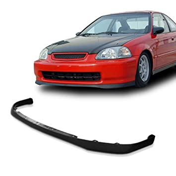 Amazon honda civic ek sir style urethane front bumper lip chin honda civic ek sir style urethane front bumper lip chin spoiler for 96 98 models publicscrutiny