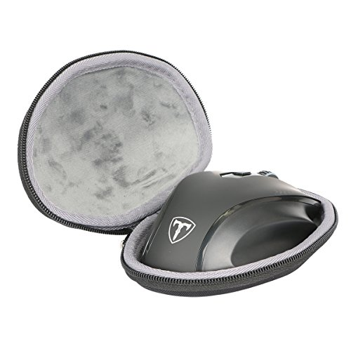 Hard EVA Travel Case for VicTsing Full Size Wireless Mouse Nano USB Receiver by co2CREA