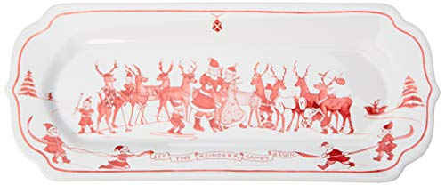 Juliska Country Estate Reindeer Games Ruby Hostess ()