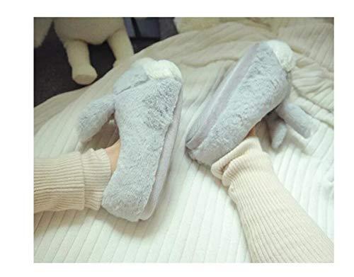 Coniglio Pantofole Animali Lanfire Antisdrucciolo Ciabatte Lanfre Anatre Invernale In Domestico Cotone xRqvO0wgR