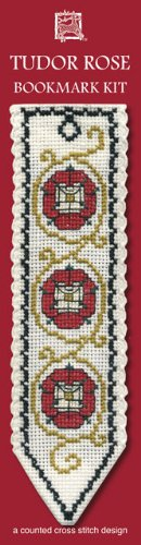 Tudor Rose Textile Heritage Collection Cross Stitch Bookmark Kit