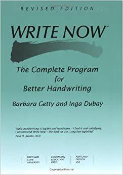 Book Write Now by Barbara Getty (2005-01-01)