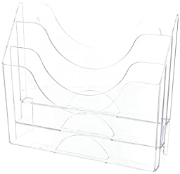 Staples Clear 3-Tier Organizer