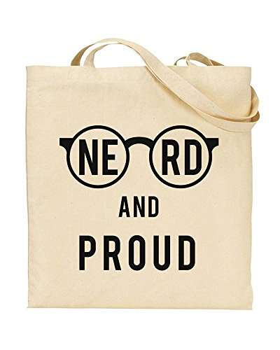 Reusable Ltd Tote Bag Funky Humour Bag Bag will Beach Geeks Shopping Totes And Life Bag Nerdy NE Rule Proud Bag NERD For F01qwPc