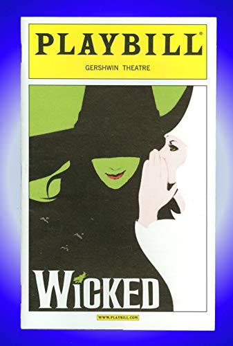 Wicked, OBC, Broadway Playbill + Kristin Chenoweth, Idina Menzel, Norbert Leo Butz, Carole Shelley, Joel Grey