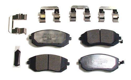 VGX Brakes MF929K Semi-Met Complete Brake Kit
