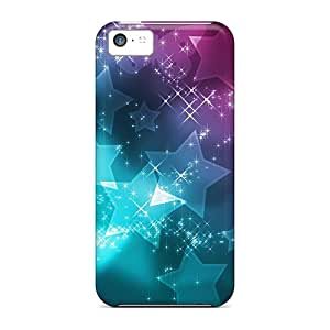 New Arrival Case Specially Design For Iphone 5c (star Abstract Design)