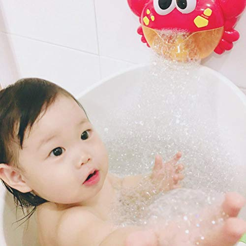 - Hot Sale!DEESEE(TM)Bubble Machine Big Crab Automatic Bubble Maker Blower Music Bath Toy for Baby