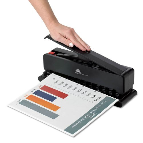 Levenger Heavy-Duty Circa Leverage Punch Paper Punches (ADS9935) by Levenger