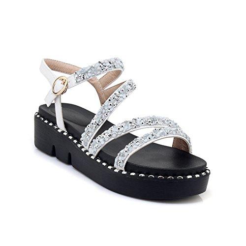 nouvelles simples 2018 plates des muffins Summer Women bout yalanshop Sandals 38 ouvert chaussures de et marée semelles épaisses à à avec paillettes douces des wEqIvYB