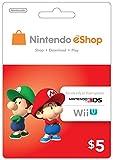 eCash - Nintendo eShop Gift Card $5 - Wii U / 3DS [Digital Code]
