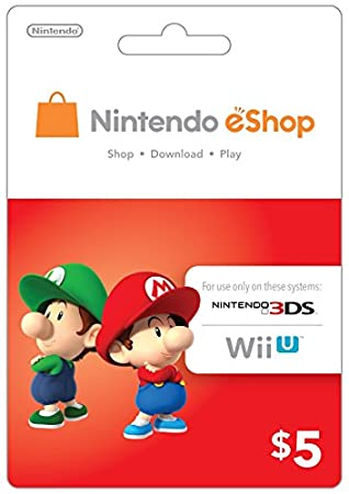 eCash - Nintendo eShop Gift Card $5 - Wii U / 3DS [Digital Code]