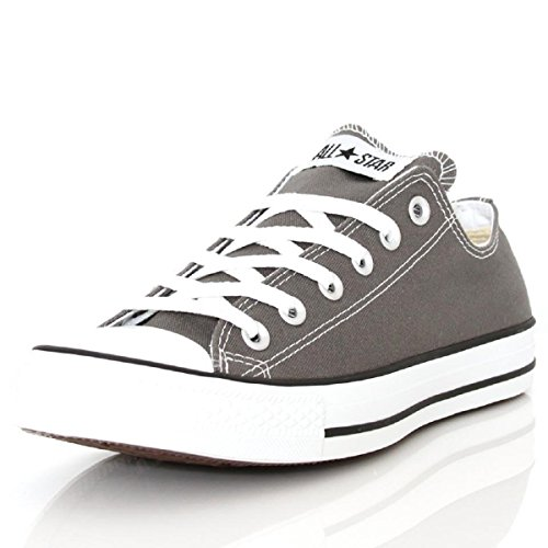 Converse Chuck Taylor All Star Core Oxford Low-top Unisex Gray (size 9 (women) us) (Gray Shoes Converse)