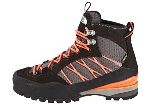 The North Face Women's W Verto S3k GTX Low Rise Hiking Boots Grey (Qsilver Grey / Radiant Orange) d2sTz3gnOi