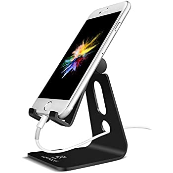 Superieur Adjustable Cell Phone Stand, Lamicall Phone Stand : [Update Version]  Cradle, Dock
