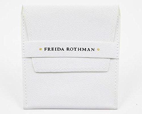 Freida Rothman femme    Plaqué or Rond   Transparent Zirkonia