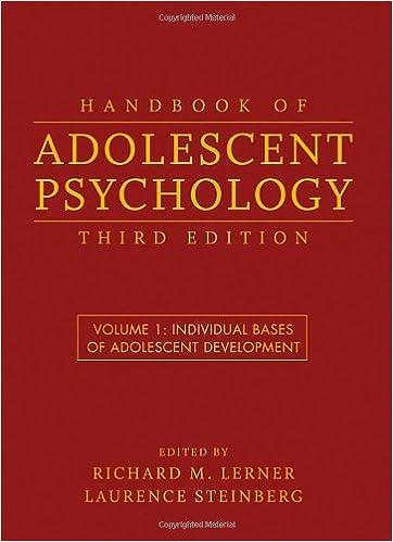 Amazon handbook of adolescent psychology volume 1 handbook of adolescent psychology volume 1 individual bases of adolescent development 3rd edition fandeluxe Images