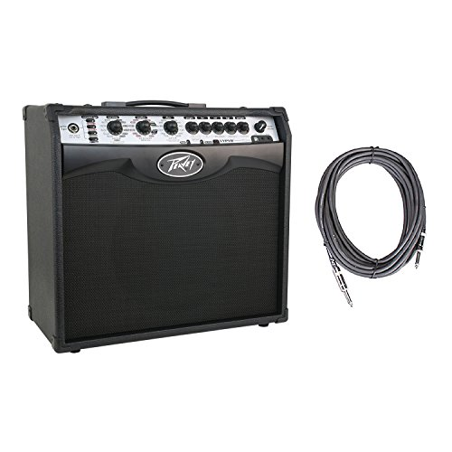 Peavey Vypyr VIP 2 Combo Modeling Instrument 12 inch 40 Watt Amplifier Amp + 10' Instrument Cable
