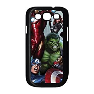 Samsung Galaxy S3 9300 Cell Phone Case Black Avengers Assemble LSO7936402