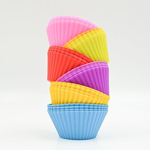 Hippih Silicone Baking Reusable Cupcake
