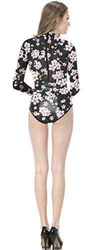 Flower Plum intero Thenice Donna Costume Xw8gnqR