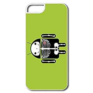 WallM Android Skeleton Skull Zombie Case For Iphone 5/5S