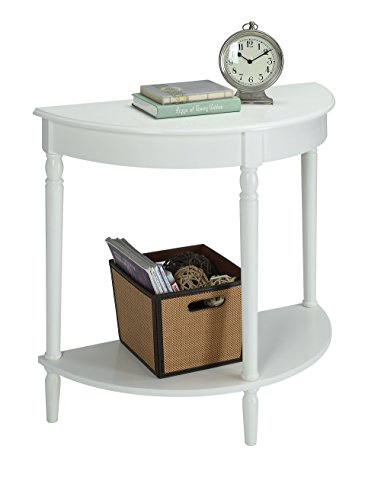 Convenience Concepts French Country Entryway Table, White