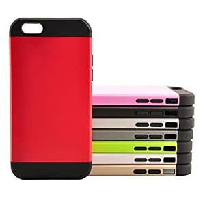 SOL Ultrathin Armor Protection Sleeve TPU and PC Hard Case for iPhone 6 Plus (Assorted Colors) , Gray