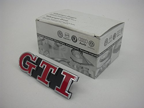 GenuineVW Golf Mk7 2013- GTI Front Grille Badge Satin Black Emblem