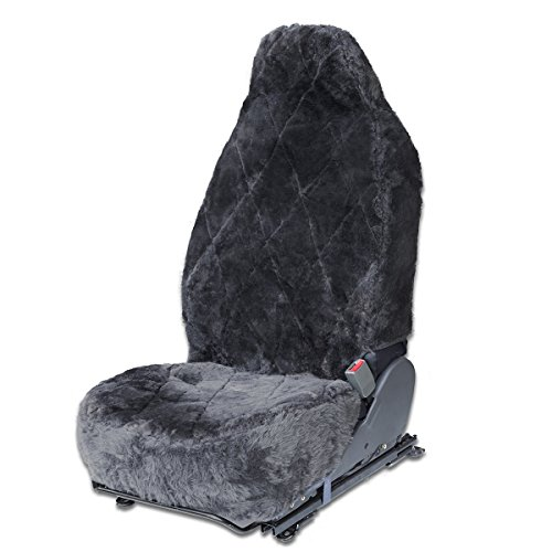 sheepskin car seat cover lexus - 1