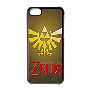 iphone5c phone cases Black The Legend of Zelda cell phone cases Beautiful gifts NYTR4639819