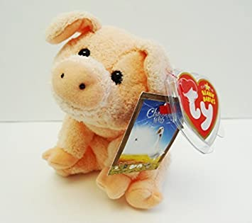 dd9f2180957 TY Beanie Baby - WILBUR the Pig (Charlotte s Web Movie Promo) by Ty  Amazon. co.uk  Toys   Games