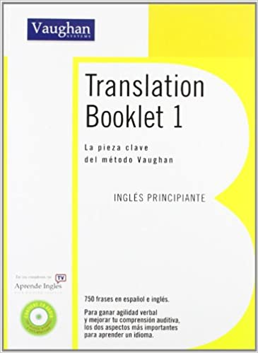 Translation booklet 1 (spanish edition) kindle edition by.
