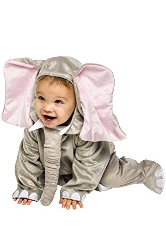 Cuddly Elephant Infant Costume, 12-24M]()
