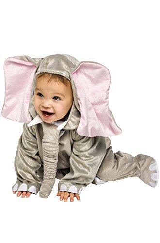Cuddly Elephant Infant Costume, 12-24M -