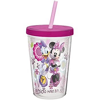 Amazon Com Green Direct Cup With Straw 10 Oz Plastic Cup