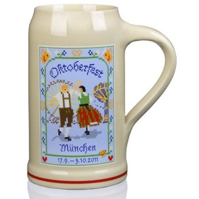 2011 Munich Oktoberfest Stein - 1 Liter