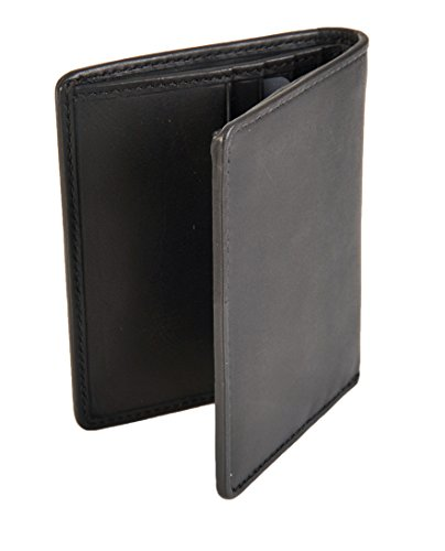 Black Bifold Black Mans Wallet RFID Blocking RAC16 Multi Multi Visconti Le Slim Xaqvgv