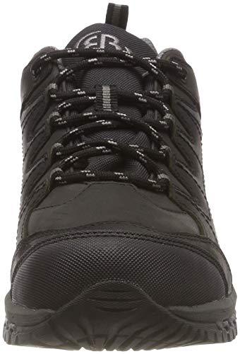 Grau Negro Schwarz Zapatos Blackburn Unisex Senderismo Bruetting Grau Adulto de Low Schwarz Rise v46S8wq
