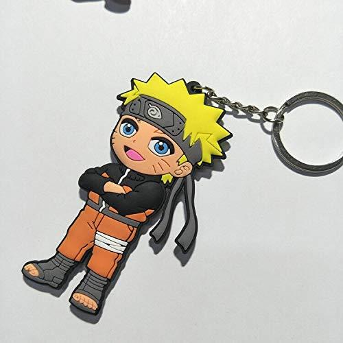 Amazon.com: Naruto anime cosplay PVC keychain Uchiha Itachi ...