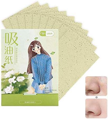 100pcs Papel absorbente de aceite facial, papel absorbente ...