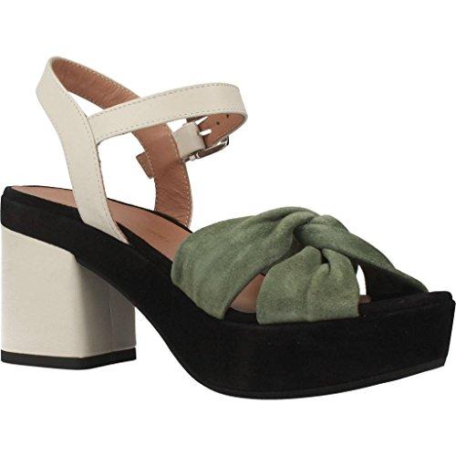 Gianmarco Sorelli Sandalias y Chanclas Para Mujer, Color Verde, Marca, Modelo Sandalias Y Chanclas Para Mujer 1914 Verde Verde