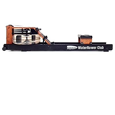 WaterRower Club Rowing Machine w/ S4 Monitor & Hi Rise Attachment from WaterRower